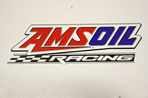 AMSOIL Racing Logo Decal Sticker