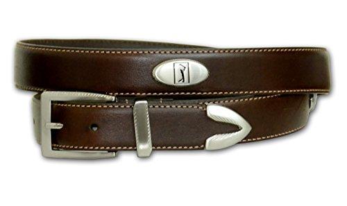 Golf Concho Belts (PGA Big Men's Concho Golf Belt (Brown)