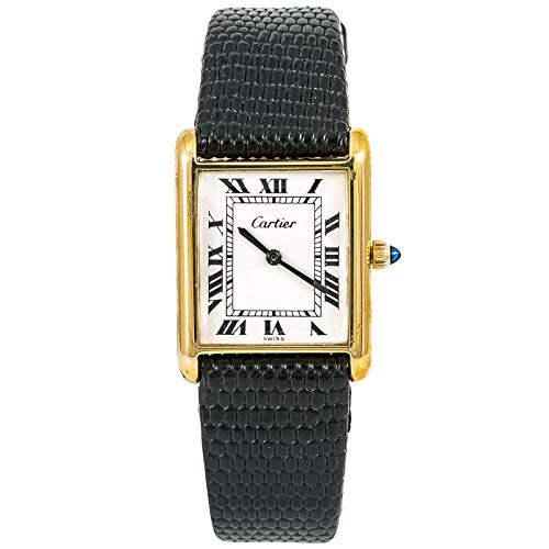 Cartier Tank Louis Cartier Mechanical-Hand-Wind Female Watch Unknown (Certified Pre-Owned)