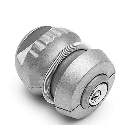 - Zerama Universal Silver Zinc Alloy Hitchlock Trailer Hitch Coupling Lock Tow Ball Lock Caravan Lock