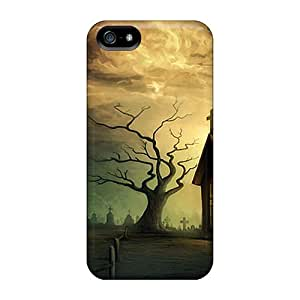 Hot BQl38007qPxX Chruch In Dream World Cases Covers Compatible With Iphone 5/5s
