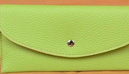 Kaxima Frau Geldbeutel Geldbörse Candy Karte Tasche Handtasche Hand halten Visitenkarte Ordner Hülle Tasche G GMfzLIUg