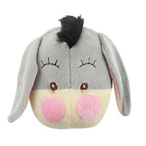 Serendipity Donkey Plush Dog Toy Small Squeaky Animal Pet Toy