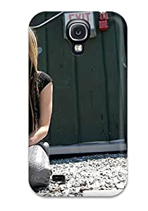 High-quality Durability Case For Galaxy S4(celebrity Avril Lavigne)