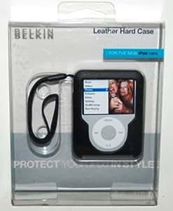 Belkin Leather Laminate Case for iPod nano Negro - fundas para mp3/mp4