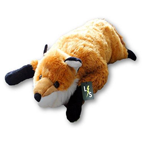 Lightningstore Adorable Cute Giant Big Large Fox Wolf Stuffed Animal