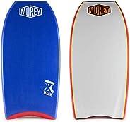 Morey Pro Series Mach 10 | Bodyboard | X-Flex Polypro Core & Mesh | Single Power Rod Stringer | Slick Bulb