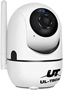 UL-TECH Full HD 1080P WiFi Camera Home Security Wireless IP Camera Surveillance Camera System Pet/Baby Monitor with 10m Night Vision Two-Way Audio Remote Vision Motion Detection Alerts
