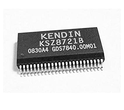 5PCS ORIGINAL MICREL KENDIN KSZ8721B SSOP48 IC Chip NEW