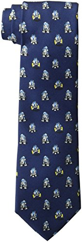 Star Wars Men's R2d2 All Over Tie, Navy, One Size by Star Wars