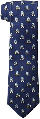 Star Wars Men's R2D2 All Over Tie, navy, One Size
