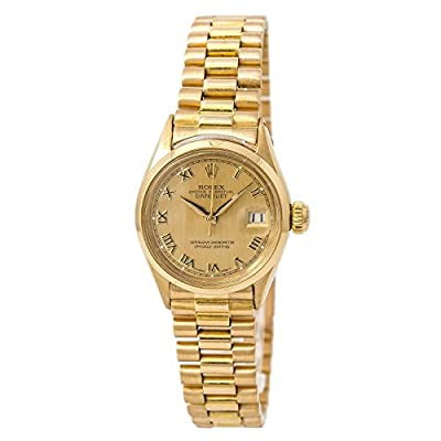 Rolex Datejust Swiss-Automatic Female Watch 6516 (Certified Pre-Owned) by Rolex