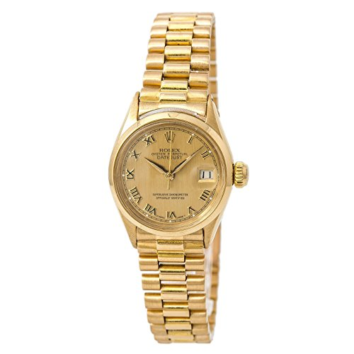 Rolex Datejust swiss-automatic female Watch 6516 (Certified Pre-owned)