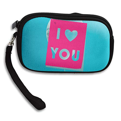 Deluxe Receiving Portable Small Love Pink Printing Purse Bag wxXzYq