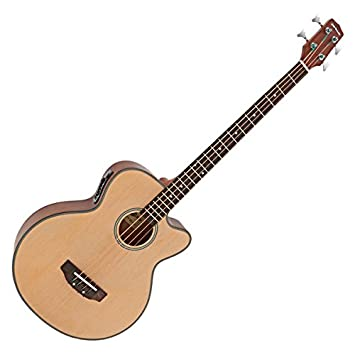 Electro Acoustic Bass Guitar By Gear4music Amazon Co Uk Musical