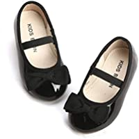 KIDS BRON Ballet Flats Mary Jane School Dress Shoes(Toddler/Little Girls)