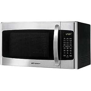 Amazon Com Stainless Steel 1000 Watt Microwave With