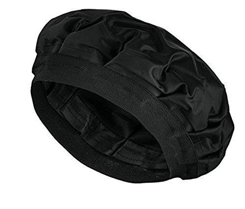 (Cordless Deep Conditioning Heat Cap - Hair Treatment Steam Cap | Heat Therapy and Thermal Spa Hair Steamer Gel Cap (Black))