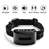 2019 Latest Model TIMPROVE Dog Bark Collar, Rechargeable Waterproof Anti Bark Dog Training