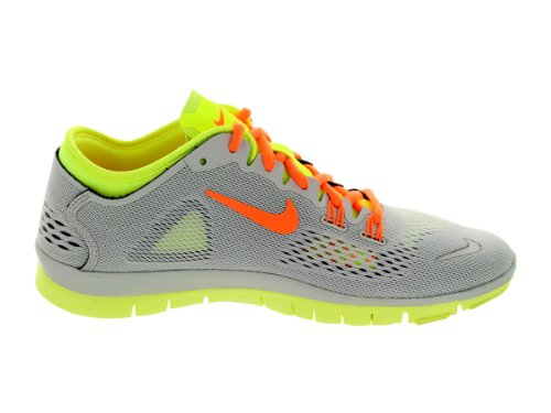 Nike - Free 5.0 TR Fit 4, Scarpe Da Corsa da Donna, (light base grey atomic orange volt medium base), 36.5