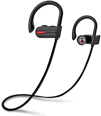 HOMTSSAW Auriculares inalámbricos intraurales Bluetooth IPX7 ...