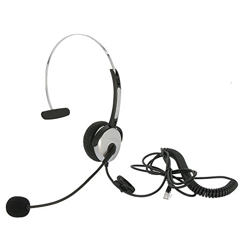 MyCableMart Headset with Microphone  with RJ22 Plug
