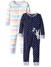 Carter's Baby - Pajamas de algodón para niña (2 Unidades)