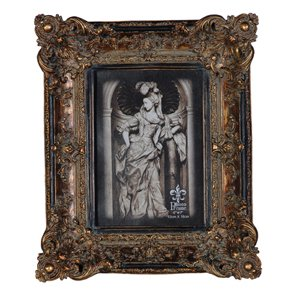 picture frames uk  Vintage Style Gilt Ornate Photo Frame: Amazon.: Kitchen & Home
