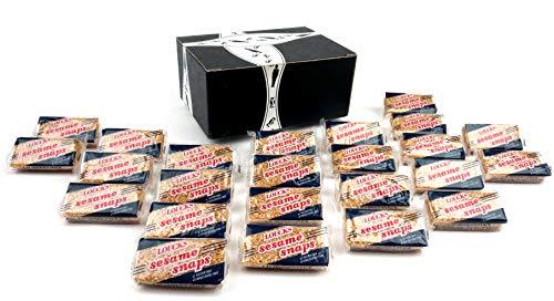Loucks Sezme Sesame Snaps, 1.4 oz Packages in a BlackTie Box (Pack of ()