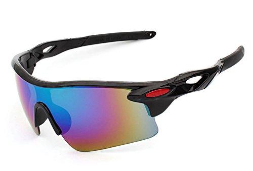 Sports Sunglasses For Men Cycling Running Driving Fishing Golf Baseball Live Wild Series Sports Sunglasses Ultra-light Frame More Solid( Black Frame Green - Sunglasses Wild Wood