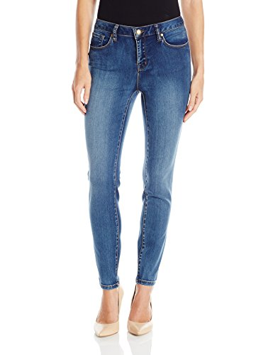 Tribal Women's Dream 5 Pkt Skinny Ankle Jean, Retro Blue, 16 (5 Pkt Skinny Jean)