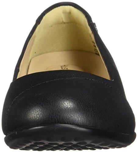 Hush Puppies Womens Kneu Bria Slip-on Loafer Zwart