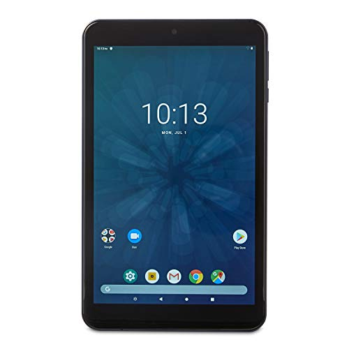 ONN 100005207 8″, 16GB Storage Android Tablet, Navy Blue