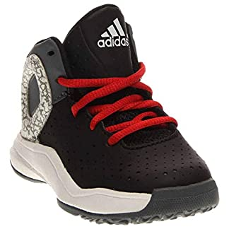 adidas Boys D Rose 5 I Basketball Athletic Shoes,
