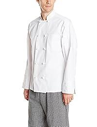 Uncommon Threads Unisex Classic Knot Button Chef Coat
