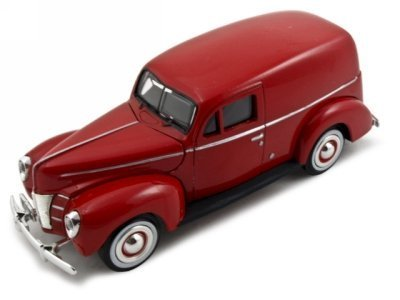 1940 Ford Sedan Delivery Red 1:24 Diecast Car Model by Motormax by Motormax