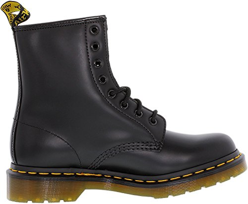 Dr-Martens-Womens-1460-8-Eye-Patent-Leather-Boots-Black-Smooth-Leather-4-FM-UK-6-BM-US-Women-5-DM-US-Men