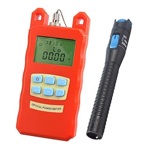 Baosity Pack Portable Optical Fiber Power Meter Tester Measure -70dBm~+10dBm + 1mW 5KM Visual Fault Locator Fiber Tester Detector Meter Pen by Baosity (Image #10)