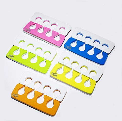 Toe Separators - Super Soft, Durable Two Tone 12 Packs ZMOI