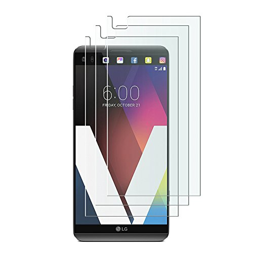 OMOTON LG V20 Screen Protector [3 Pack]-[Ultra-Clarity] [Highly Responsive] [No-Bubble Installation] Premium Screen Protector for LG V20, 5.7 inch