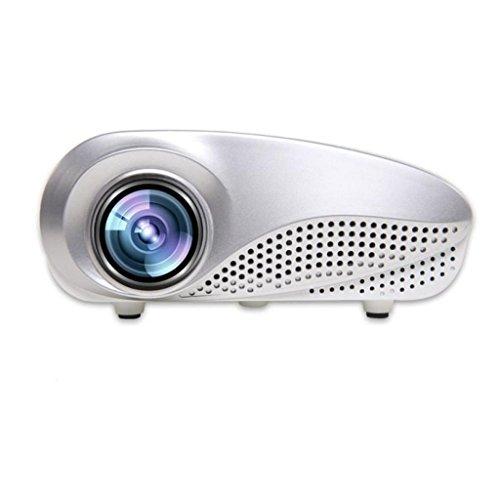 LOUSHI Mini Home Multimedia Cinema LED HD Projector Support AV TV VGA USB HDMI SD by LOUSHI
