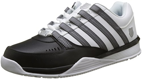 Black K Homme Swiss Baskets White Charcoal Noir Baxter qqUPvg