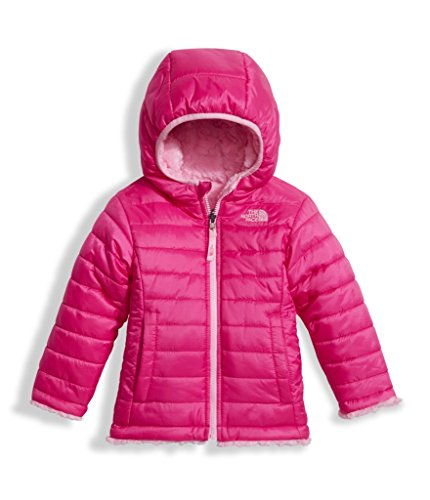 The North Face Toddler Girls Reversible Mossbud Swirl Jacket - Petticoat Pink - 5T by The North Face
