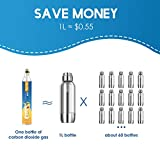 BLUE FLAG Co2 Carbonator Compatible with Sodastream