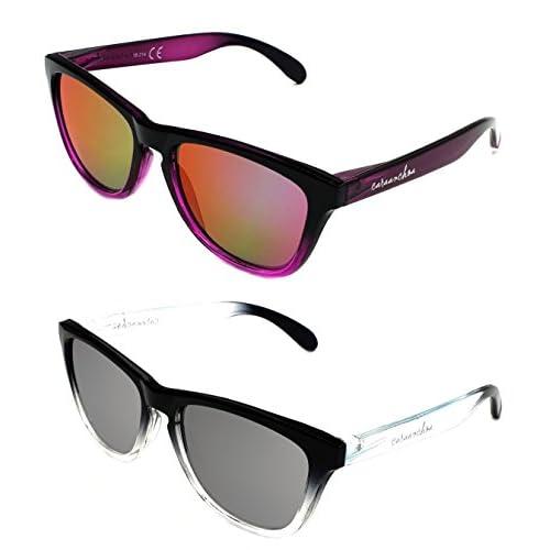Buena De Moda Hombre Uv400 Categoría Sol Pack 2x1 3 Gafas Mujer Y6gmI7yvbf