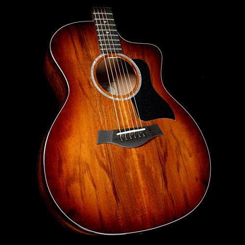 Taylor 200 Series Deluxe 224ce-K Grand Auditorium Acoustic-Electric Guitar Shaded Edge Burst (Taylor Cutaway Guitar Acoustic)