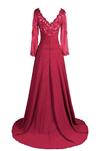 pizzo della 44 abito Raglan Applicazioni Tempo promw Scoop madre Neck Donna orld Purple sposa vaOwq0B