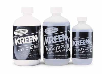 Kreem Products Fuel Tank Liner Combo-Pak 1210 by Kreem Products
