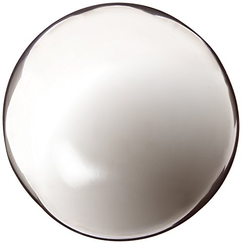 Mystic Gazing Ball - Rome 708-S Silver Stainless Steel Gazing Globe, Polished Stainless Steel, 8-Inch Diameter