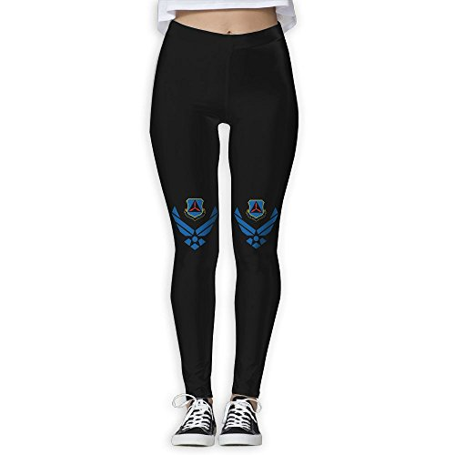 Price comparison product image LKJAS SSD Girls Yoga Pants - Civil Air Patrol U